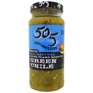 505 Medium Flame Roasted Green Chile